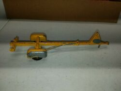 Tootsie Toy Boat Trailer Chicago Usa 24 Yellow Toy Tee Nee 08-70 Vintage