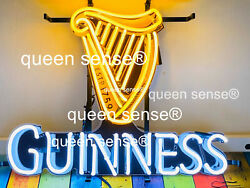 Guinness Harp Beer Light Lamp Neon Sign 20 With Hd Vivid Printing