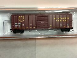 Fox Valley N Scale Fmc 5347 Sd Box Car Wisconsin Central Road Numbers Vary