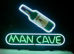 Jameson Irish Whiskey Man Cave 20x16 Neon Sign Lamp Light Beer Bar With Dimmer