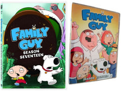 Brand New Family Guy Season 17 amp; 18 DVD Box Set 6 Disc US Seller New amp; Sealed