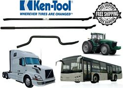 T46 Tire Iron Kit For Standard And Large Truck Tires -ken Tool 34746 Free Shipping