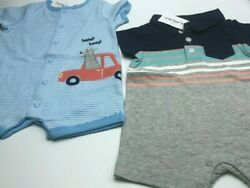 Infant Boys Carters Summer RompersClothes!2 different styles!  Brand New Cute $12.99