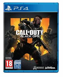 Cod Black Ops 4 Ps4 Call Of Duty Iiii Playstation 4 Brand New Sealed