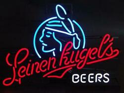 Leinenkugel's Beers 20x16 Neon Sign Lamp Bar With Dimmer