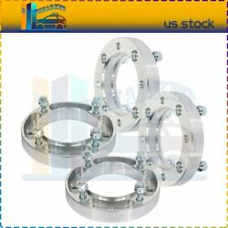 4x 4x137 1 Wheel Spacers 10x1.25 Studs For Bombardier Can-am Commander Cb 110mm