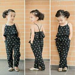 Summer Overalls Toddler Kids Baby Strap Rompers Jumpsuit Harem Pants Outfits