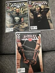 The Punisher Comic Lot 1-3