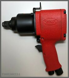 Siouxandreg Tools Iw75bp-6h Impact Wrench - Pistol Grip - 3/4 Drive - 3/4 Capacity