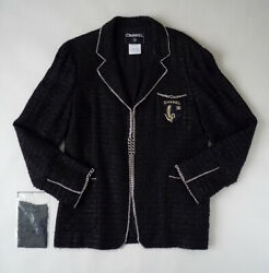 Authentic Chanel Jacket Men'S Ok From JAPAN No.63226