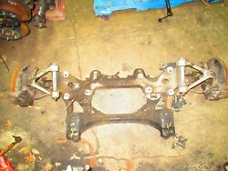 Jdm Toyota Supra Front Subframes Control Arms Spindle Hubs Rotors Mk4 Rhd Front