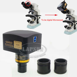 20mp 1 Sony Imx183 Usb 3.0 Biological Video Microscope Camera Ccd 0.5 Ctv Lens