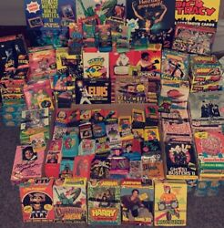 Lot Of 5 Vintage Unopened Non Sport Wax Pack - 70s 80s 90s Bonus Packs And Gifts