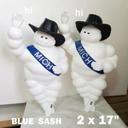 2x17 2x10 4x8 Lovely Michelin Man Doll Welcome Sign Style Cushy Tidy Hi Yes