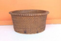 Fruit Basket Box Cane Vintage Very Rare Home Decorative Halloween Gifts F-10