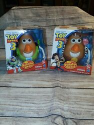 Lot Of Toy Story 3 Mr Potato Head Spud Buzz Lightyear And Woody New In Box