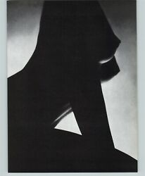 1965 Peter Basch Abstract Silhouette Nude Torso Female Breasts Photo Gravure