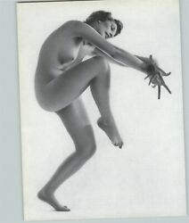 1965 Peter Basch Contemporary Dance High Step Nude Female Breasts Photo Gravure