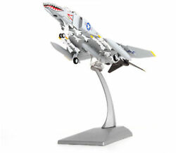 1/100 Us F4-c Fighter Aircraft Model Alloy Military Airplane Toy Ornaments Gift