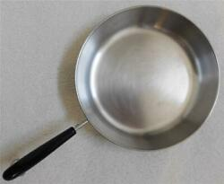 Revere Ware Stainless Steel Heavy Duty 10 Inch Skillet Rare Vintage