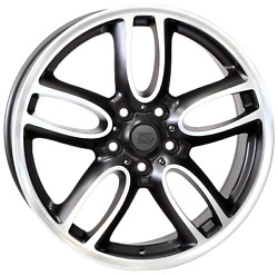 19 Inch Amstel Wheels Set - Fits Mini Countryman - Oem Compatible - Italy