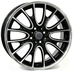 18 Inch Rivers Wheels Set - Fits Most Mini Clubman - Oem Compatible - Italy