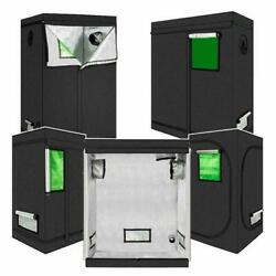 Grow Tent Room Reflective Mylar Hydroponic Non Toxic Hut Sizes With Window New