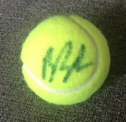 Boris Becker Signed Autographed New Tennis Ball Champion Legend With Coa