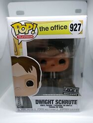 Brand New Funko Dwight Schrute With Mask 927 In Hand Fast Ship