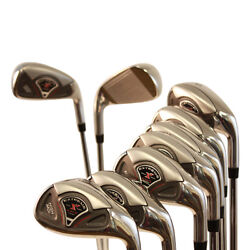 New Big And Tall Xl Extra Long Ladies Lady Golf Clubs Womens Graphite Iron Set