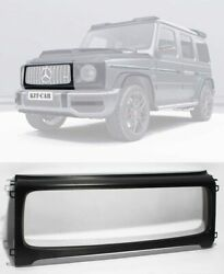 G Wagon Front Grille Frame Matte Black Carbon Fits Mercedes W464 W463a G63 Grill