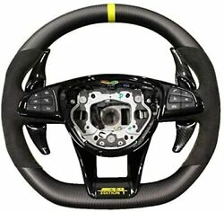 Amg Edition 1 Style Mercedes Steering Wheel Carbon Fiber For Mercedes Benz C E