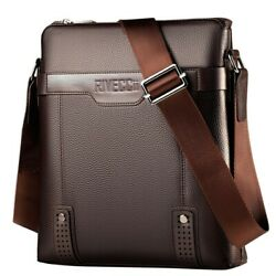 Shoulder Bag for Men. Cross body Bag for your Wallet Phone iPad Brown $22.00