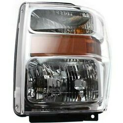 Headlight Lamp Left Hand Side For F250 Truck F350 F450 F550 Driver Lh Fo2502243