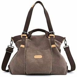 Women Hobo Handbags Canvas Casual Vintage Shoulder Daily Purse Tote Crossbody $31.97