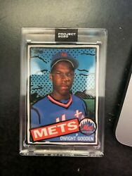 Topps Project 2020 Dwight Gooden By Joshua Vides W/box