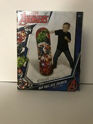 Marvel Avengers 36 Inch Punching Bop Bag Indoor Outdoor Easy To Inflate Hedstrom