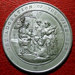 Judeo Christian The Adoration Of The Wise Men To Jesus Medal By Thomason
