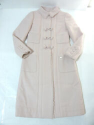 Rare Chanel Coat Paris Ny Pink Popular Second Hand From JAPAN No.35727