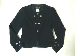 Rare Chanel Jacket Classic Second Hand From JAPAN No.35832