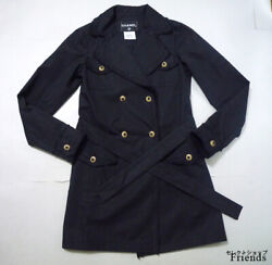 Rare Work Chanel Trench Coat Only 7937 In Japan From JAPAN No.35992
