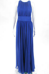 Badgley Mischka Collection Blue Corundum Sapphire Gown 790 Size 10 10416447