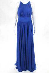 Badgley Mischka Collection Blue Corundum Sapphire Gown 790 Size 10 10297556
