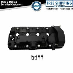 Engine Valve Cover W/ Gasket And Hardware Lh Driver Side Cylinders 5-8 For Bmw