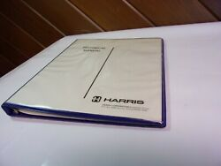 Vintage Service Manual Harris Fm Broadcast Gtm-88s Stereo Modulation Monitor