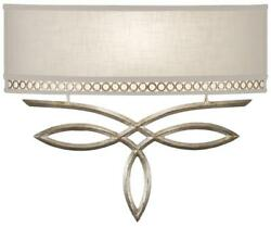 Sconce Wall Pierced Gallery 3-light Brown Highlights White Textured P