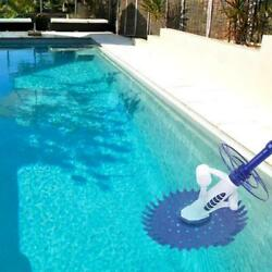 Automatic Swimming Pool Vacuum Cleaner Hover Climb Wall W/ Hose In Ground