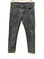 Black Faded GUCCI Skinny Jeans Size 29 Low Rise  $112.68