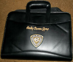Harley Owner's Group Primary Officer Training Notebook Day Planner Patches Pins