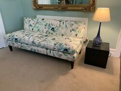Ex Display George Smith Large Armless Brompton 3 Seater Sofa Rrp Andpound9800